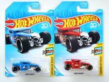 (2) Bone Shaker Cars (Legends Of Speed)(Hot Wheels)(2017)