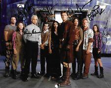 Serenity Firefly Cast x6 Signed 10x8 Autograph Photo - Torres , Tudyk , Glau