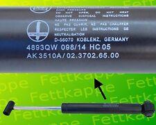 BPW Auflaufdämpfer 02.3702.65.00 für ZKV35 - AK3510A - ZAF 3,5-1 - ZAA 3,5-1