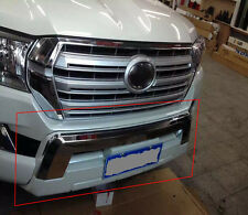 Chrome Front Bumper Protector Skid Guard for Toyota Land Cruiser LC200 2016-18
