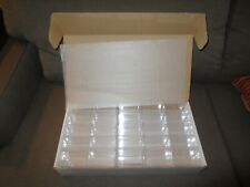 New Box 50 Pioneer Acrylic Display Cases Scale 1:64 Cars 3.5 x 1.62 x 1.7 inches