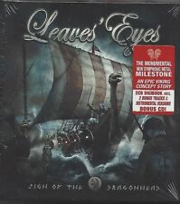 LEAVES' EYES / SIGN OF THE DRAGONHEAD * NEW & LIMITED 2CD DIGIBOOK EDITION 2018