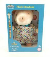 "Zoobies Book Buddies ""If You Give A Pig A Party"" Plush Storybook. New"