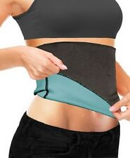 Beautyko Thermo-Slim Detox Wrap, Black and Aqua Blue, Size 2Xl