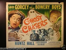 Ghost Chasers 1951 Leo Gorcey and the Bowery Boys Movie Poster