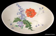 "Scarce Raynaud Ceralene Limoges PAVOT Poppy 12 3/4"" Oval Serving Platter"