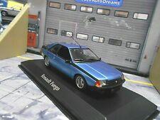 RENAULT Fuego Coupe 1984 blau blue met. Minichamps Maxichamps SP 1:43