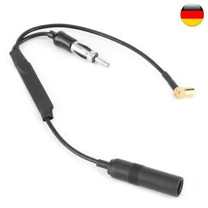 34.5cm Y-Antennen Adapter KFZ Antennenadapter DAB Antennenstecker Radio Adapter