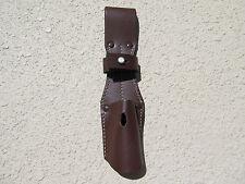 German Wwii, Ww2 Brown Leather K-98, K98 Bayonet Frog