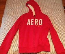 Aeropostale Red, Fur Lined Hoodie Sweater
