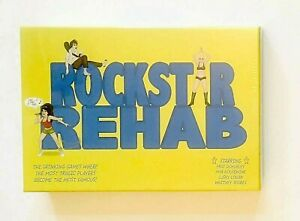 Drinking Game Rock Star Rehab  Funny Adult Game New Sealed