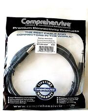 "2 GUITAR/AMP/STOMPBOX 1/4"" TO 1/4"" 6-FT CABLES>NEW IN PACKAGE>FREE U.S. SHIPPING"