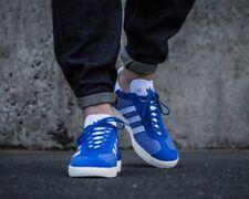BNWB & Authentic adidas originals ® Gazelle Primeknit Blue Trainers UK Size 7.5