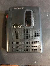 Sony Tcm-313 Portable Cassette-Corder Voice Recorder (Tested)