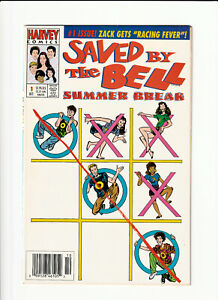 Saved By the Bell #1 Harvey 1992 VF 8.0 RARE newsstand UPC.