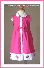 Gymboree Cape Cod Cutie Dress NWT 3T 3 Pink Ladybug