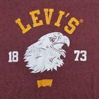 Men's Levi's Eagle Head 1873 XL T-Shirt Licensed Levi Strauss Levis
