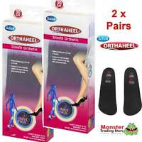 2 X PAIRS SCHOLL ORTHAHEEL SLIMFIT WOMEN ORTHOTIC INSOLES HIGH HEEL SHOES SIZE L