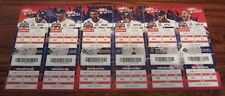 2018 Astros Full Un Used Season Ticket YOU PICK Game Bregman Altuve World Series