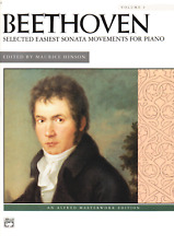 Beethoven Selected Easiest Sonata Movements For Piano Volume 1 Sheet Music Book