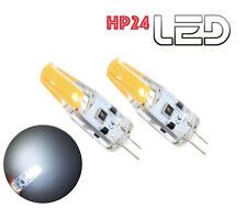 2 ampoules HP24 Feux de jour diurne Roulage LED COB Puissant Blanc Pur HP 24-24W