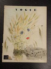 FRENCH VOGUE Magazine July 1948