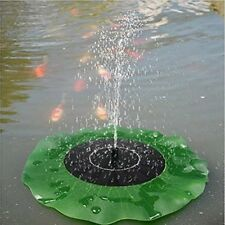 Solar Power Water Pump for Garden Pond Fountain / Submersible waterfall Sump DW