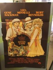 A STANLEY DONEN FILM! LUCKY LADY-Original Movie Poster