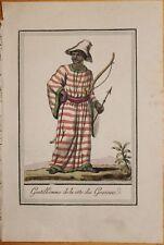 COTE D'OR - AFRIQUE 6 GRAVURES COULEURS 1796 - GRASSET SAINT SAUVEUR