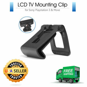 TV Mounting Clip for PS3 Eye Camera Playstation 3 Move LCD Flat Screen Clip