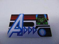 HEROCLIX MARVEL AVENGERS HULK ID CARD PROMO L.E.  NEW!!! HC60