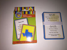 United States 36 Travel Educational State Trivia 3X5 Flash Cards 100% Complete