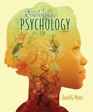 Exploring Psychology by David G. Myers (2012, Paperback, 9th Edition)