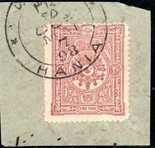 12.7.GREECE,CRETE,TURKEY 1898 20p. CANEA,HANIA POSTMARK