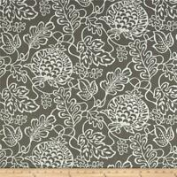 P Kaufmann Getaway Stone Floral Outdoor Drapery Upholstery Fabric by the yard