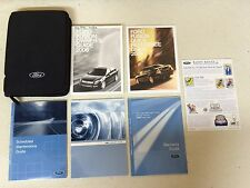 2006 Ford Fusion Owner's Owners Manual User Guide Books Literature (7 pieces)