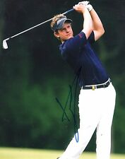 Luke Donald Hand Signed 8x10 Photo Autographed Authentic Pga Golfer Coa