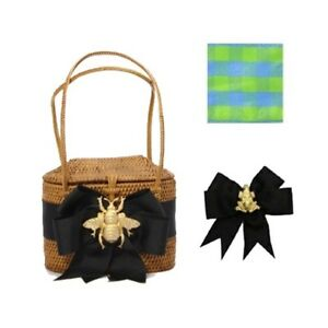 Bosom Buddy High Baby Bali Bag with Frog & Ribbon - Factory New