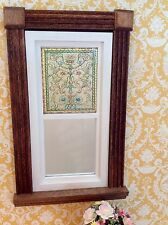 Belcher Style Dollhouse Miniature Victorian Stained Glass Window film