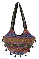 INDIAN WOMEN SHOULDER BAG HANDMADE EMBROIDERED LADIES HANDBAG NEW FOR SALE