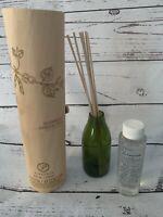 New Paddywax Bamboo & Green Tea Fragrance Diffuser 4oz 8 Reeds Green Holder NIP