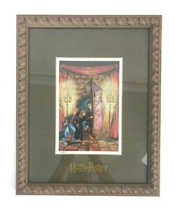2000 Harry Potter Pig Snout Warner Brothers Fred Bode Artist Framed Lithograph