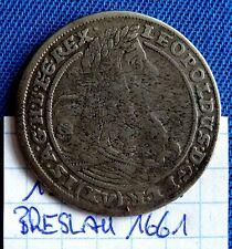 15 Kreuzer Breslau 1661 Leopold I