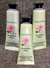 Crabtree and Evelyn Hand Therapy – RARE Lot of 3, 0.9oz ea of Summer Hill Scent