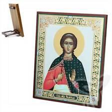 Ikone Nadejda Heilige Märtyrin Holz 15x18 Надежда Святая мученица  икона
