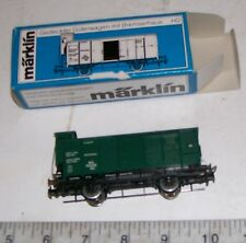 Märklin HO / OOO Scale 4679 Boxcar With Brakeman's Cab Wagon and Original Box