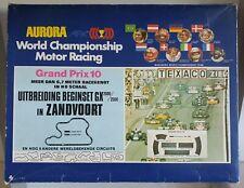 Rare AURORA AFX GP Zandvoort NL track OB slotcar set 1960s H0 scale