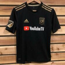 Adidas Los Angeles Football Club Fc YouTube Mls Soccer Jersey Youth L
