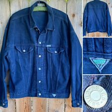 Vintage Guess Jeans Denim Jacket 80s 1980s 90s Made In USA XL Men's Blue