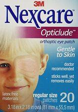 Nexcare Opticlude Elastic Bandages for Orthoptic Eye Patch, 20 Each